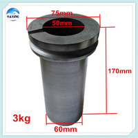 Graphite Crucible Gold For Melting Metal 3kg Graphite Crucible Gold