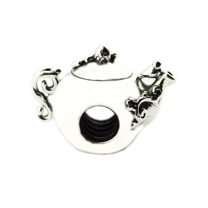 Beads FOR Jewelry Making DIY Sterling-Silver-Jewelry Enchanted Tea Pot Charm 925 Berloque Perles CharmBeads FOR Jewelry Making DIY Sterling-Silver-Jewelry Enchanted Tea Pot Charm 925 Berloque Perles Charm