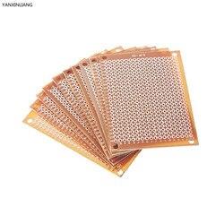 10pcs new prototype paper copper pcb universal experiment matrix circuit board 5x7cm brand.jpg 250x250
