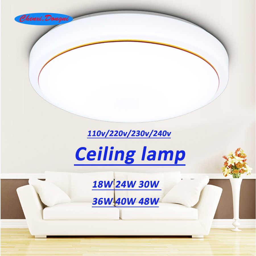 ceiling led lighting lamps modern bedroom living room lamp surface mounting balcony 18w 24w 30w 36w 40w 48w AC85V - 260V ceiling