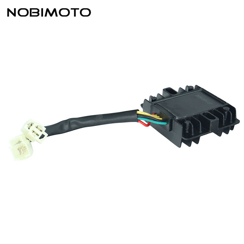 6 Wire Motorcycle 11 Stage Full Wave Rectifier Black Voltage Regulator Rectifier For 11 Stage Engines Off Road Motocross DQ-102