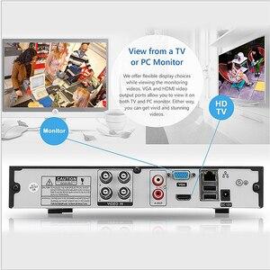Image 4 - Комплект видеонаблюдения YiiSPO, 4 канала, 1080P, AHD, HD, HDMI, VGA