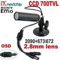 Hqcam 700tvlソニー673は672 + nextchip 2090 osdメニューミニ弾丸カメラミニccd屋外防水cctvセキュリティカメラ960 960h dvr