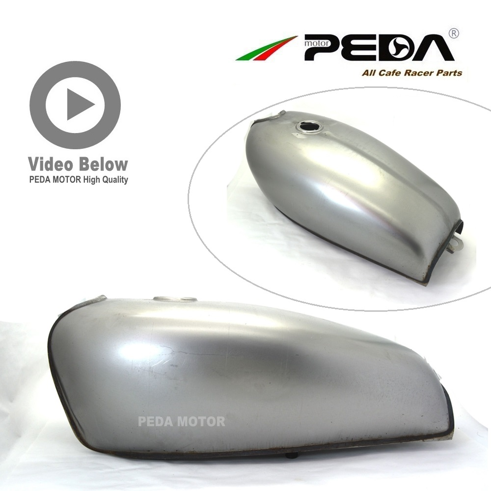 2FS PEDA Cafe Racer Retro Fuel Tank 9L XF Motorcycle Vintage Petrol Can Gasoline Tank For HONDA CG GN For YAMAHA With Cap