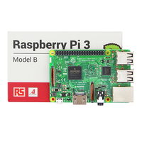 Original UK Made Raspberry Pi 3 Model B Board 1GB LPDDR2 BCM2837 Quad Core RPI 3
