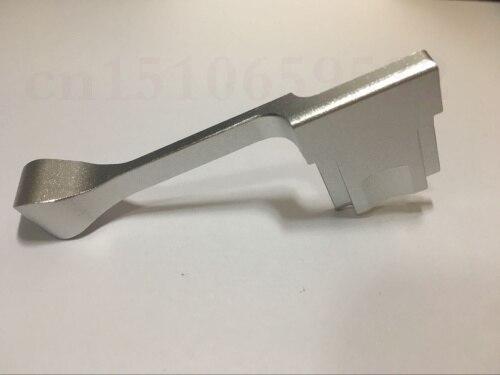 03 New Metal Thumb Up Grip for Fujifilm Fuji X100F X100T X70 X30 X-A3 X-A2 X-A1 X-PRO2 X-PRO1 X-M1 XM1 Sliver Color
