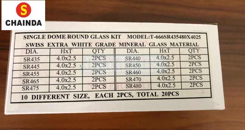 Redonda De Vidro Mineral Grau Extra Branco
