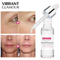 VIBRANT GLAMOUR Argireline Collagen Peptides Face Serum  Anti-Wrinkle Cream Firming Whitening Moisturizing Hydrating Skin Care Face Care Serum