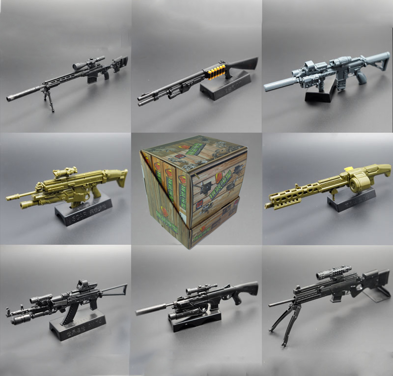 4D Gun Model Second Generation 1:6 Assembling Weapon Toys ...