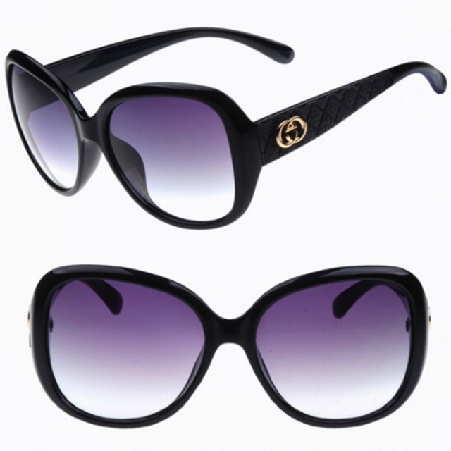 aa548e9986 Mujeres de La Manera gafas de sol de la vendimia Marco Gafas de Sol de  Espejo