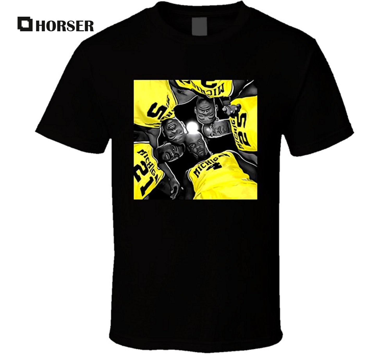 GILDAN Michigan Fab Five Cool College Basketballer T Shirt ...