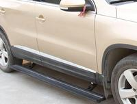 aluminium Automatic scaling Electric pedal side step running board for TIGUAN 2010+