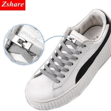 1 Second Quick No Tie Shoelaces Elastic Cross buckle ShoeLaces Kids Adult Unisex Sneakers Shoelace Lazy Laces Strings cheap SMATLELF Solid Elastic Locking Shoelaces Polyester about105cm 0 7cm 0 2CM 20Colors