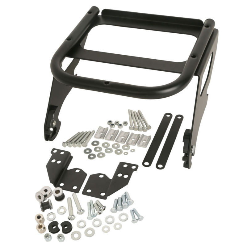 Motorcycle Bike Solo Tour Pak Rack & Docking Hardware Kit For Harley Touring Electra Street Glide Road King Flhx Flhr Fltr 97-08 Ample Supply And Prompt Delivery Carrier Systems