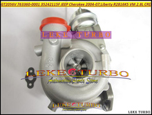 GT2056V 763360 35242115F 763360 0001 763360 5001S Turbo Turbocharger For font b Jeep b font Cherokee