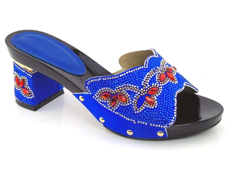 ФОТО fashion Design sandals African Shoes Women Sexy Dress Fashion Heels Pumps!royal blue ! DG1-29
