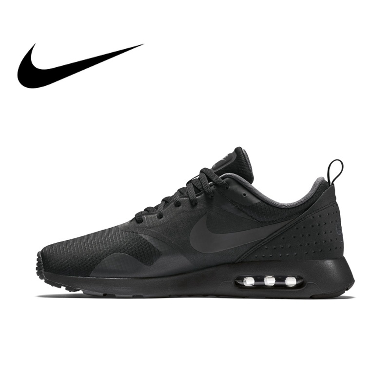 sports shoes b58e8 58852 Original NIKE Air Max TAVAS Men s new Breathable Running Shoes Lace-up  Low-cut