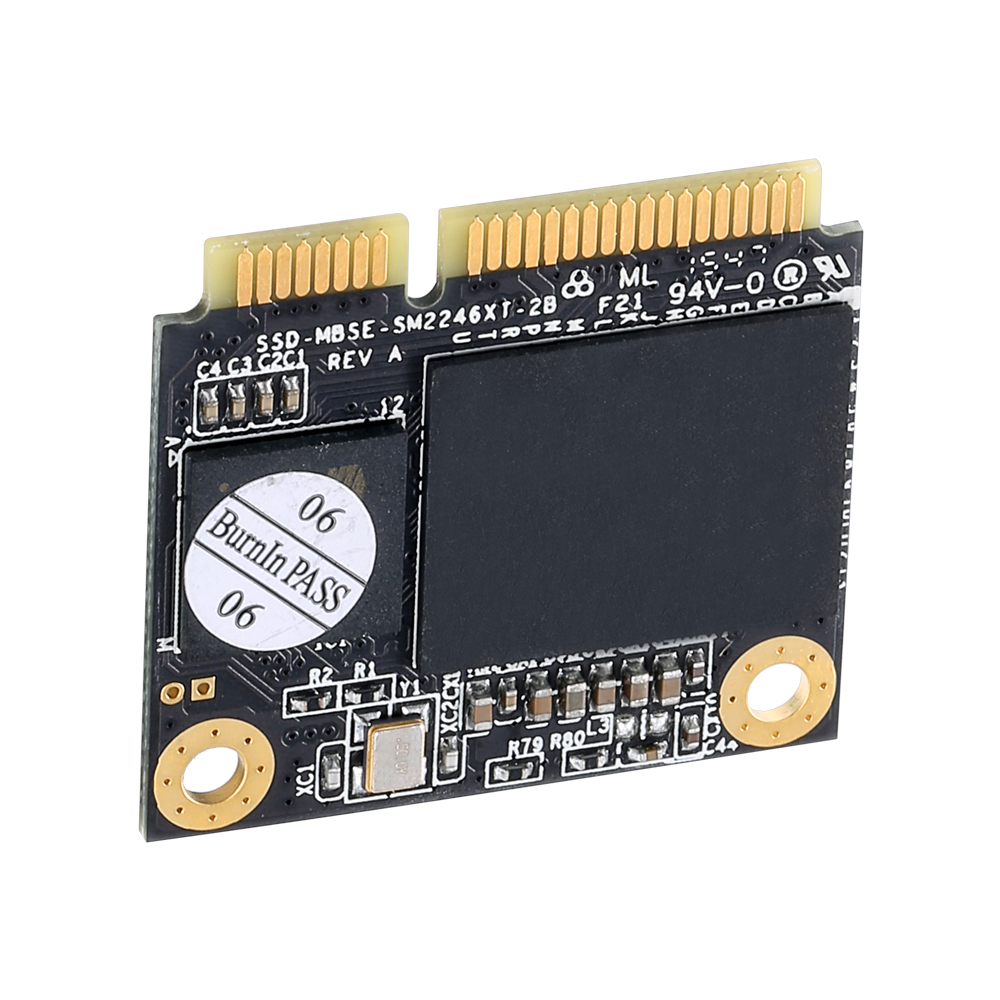 KingSpec 120 gb 128 gb SATA3 Metade Do Tamanho mSATA SSD Hard Drive Solid State Disk Mini SATA Interno para Laptop PC Desktop