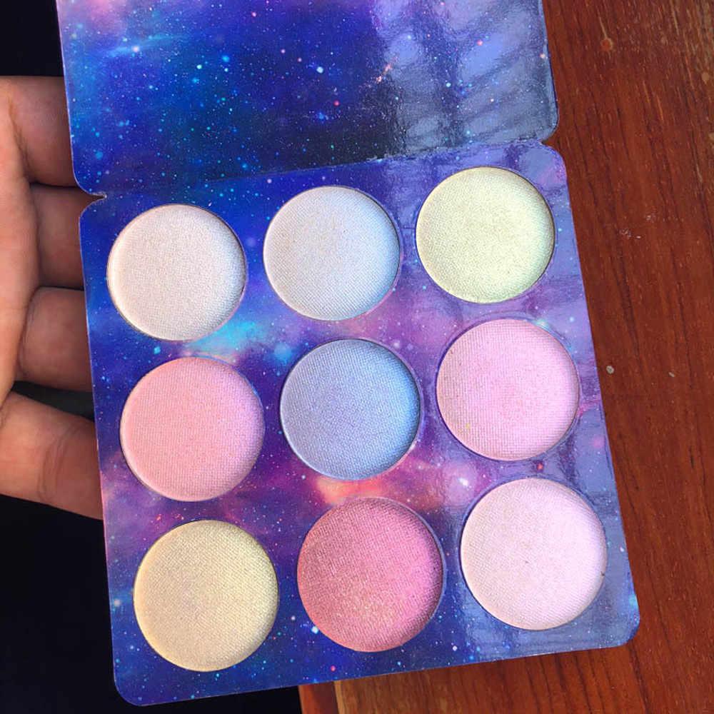 מסיבת איפור סימון צבעים 9 צבעים להאיר עור קוסמטיקה שמר צלליות פנים Contouring איפור Maquiagem #
