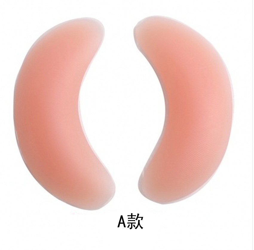 1Pair Soutien Gorge Silicone Gel Bra Insert Pads Breast Enhancer Push Up Bra Pad Women Bikini Swimwear Invisible Sticky Bra Pads 5
