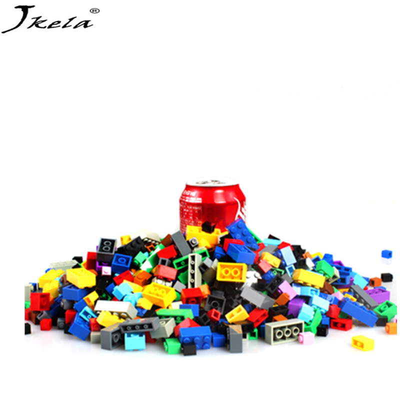 <font><b>1000Pcs</b></font> DIY City Creative Building Blocks Bricks Educational toys Compatibility With My Style Duplo for children Gifts image