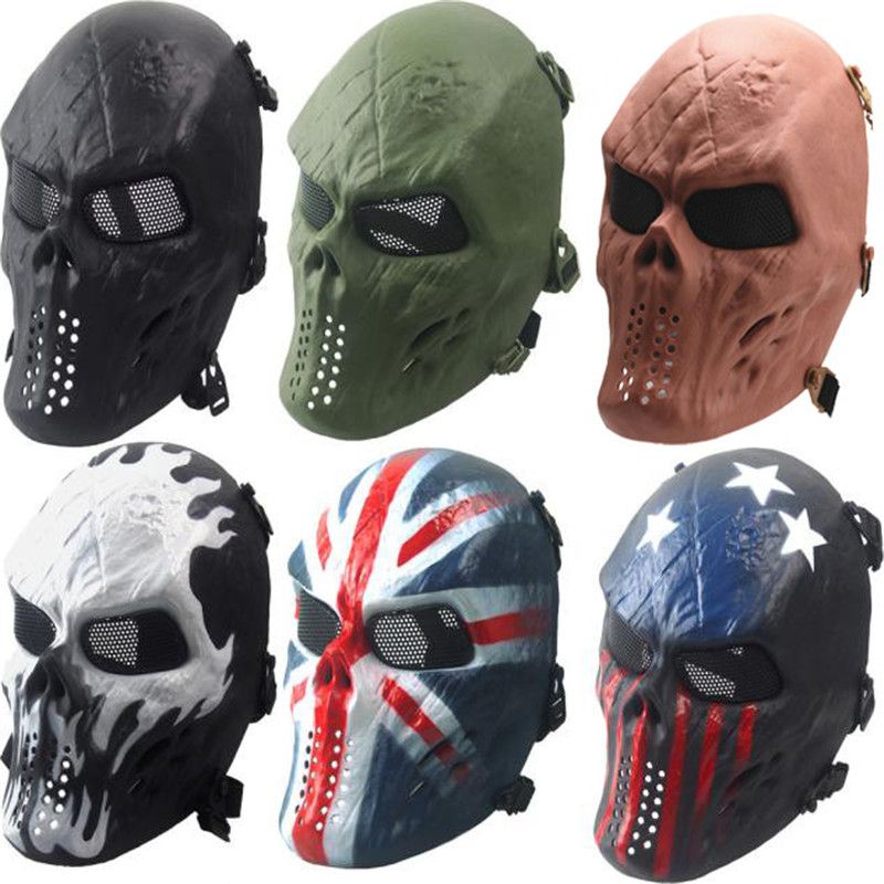 Top 10 Largest Military Skull Face Mask Ideas And Get Free Shipping B7f018nj