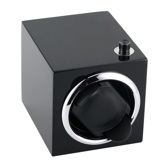 Ver Winder Motor de almacenamiento de reloj mecánico de cuerda caso caja de reloj con cuerda automática Cable USB