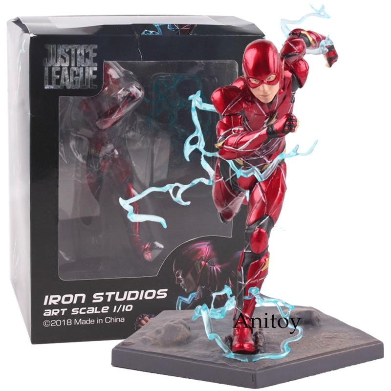 Justice League The Flash Iron Studios Art Scale 1/10 PVC Justice League Action Figure Collectible Model Toy 15cm Hot toys justice league vol 7 darkseid war part 1