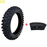 Genuine TDPRO 80/100 12 Motorcycle Wheel Pit Dirt Bike 12 Tyre For Kenda Carlsbad Intermediate Hard Rear Tire Tube