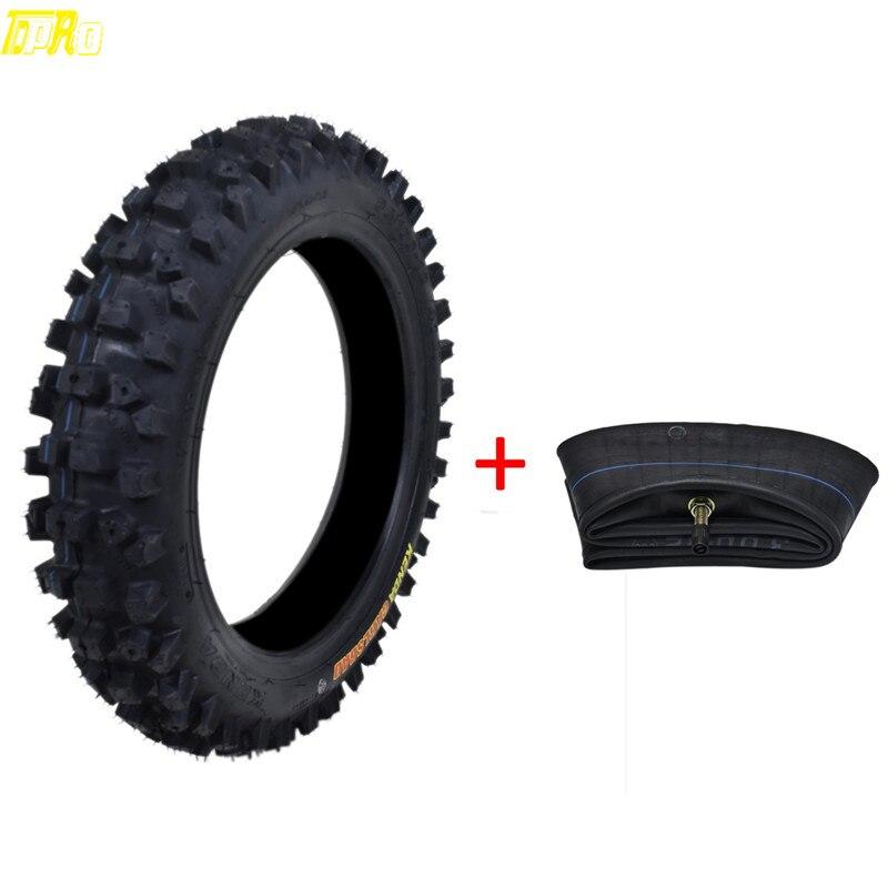 Véritable TDPRO 80/100-12 moto roue Pit Dirt Bike 12