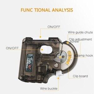Image 4 - Automatische Draagbar herramienta portátil para anzuelo de pesca eléctrica, herramienta para anudar anzuelos de pesca rápidos, dispositivo de atado de línea, aparejos de máquina