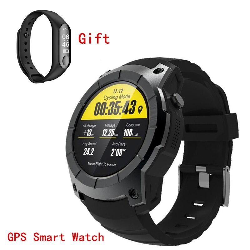 GPS SmartWatch hommes femmes Bluetooth relogio fréquence cardiaque vitesse Fitness Tracker GSM GPRS horloge 2G carte SIM Smartphone PK Xiomi montre