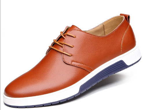 New men's shoes, brown men's shoes, casual style men's shoes, high quality