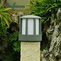 Moderno E Minimalista Luzes Ao Ar Livre À Prova D' Água de Interface E27 Lâmpada Do Gramado De Alumínio Pós Luzes Villa Jardim Luz Ao Ar Livre Iluminação