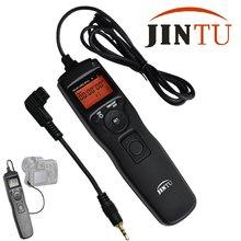 Jintu lcd temporizador de lapso de tempo obturador controle remoto para sony alpha a550 a580 a560 SLT-A100 a77 a65 a57 a55 a37 a35