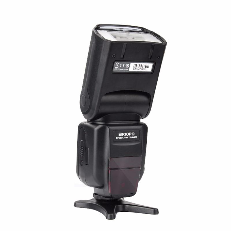 Triopo tr-TR-586EX Modalità Wireless TTL Speedlite Speedlight Per Canon 5D Nikon D750 D800 D3200 D7100 DSLR Della Macchina Fotografica come YONGNUO YN-568EX