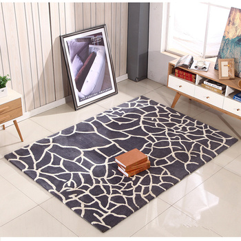Encryption Thicken Washable rug carpet Modern Style Living Room Bedroom Room Pattern Carpet Green No smell