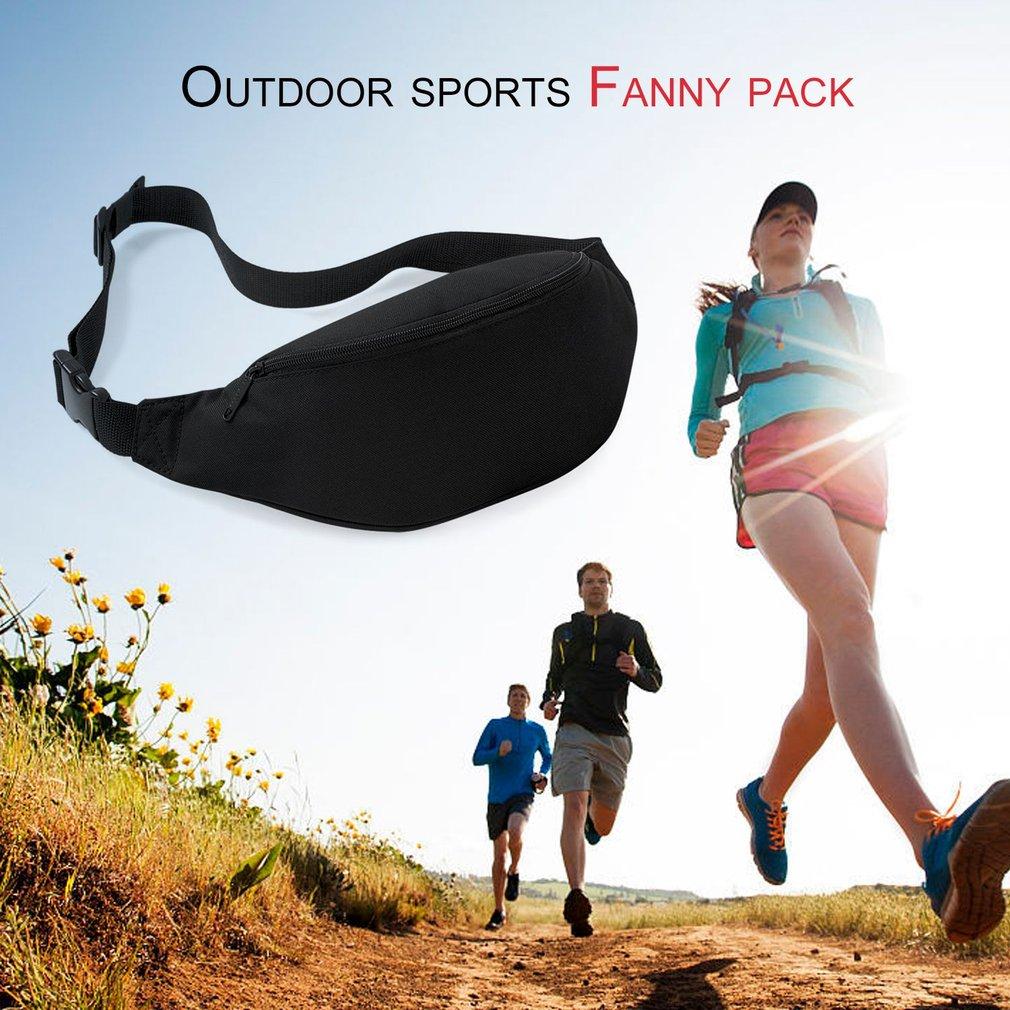 9color Outdoor Sports Running Jogging Waist Bag Waterproof Phone Waist Belt Pack Gym Fitness Waist Belt Wallet Pocket Travel Bag