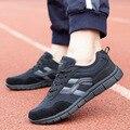 2016 Novo Verão Rede Sapatos Respirável Homens Sapatos Casuais No-slip Respirável Sapatos Ao Ar Livre Homens Sapatos Masculinos Tamanho Grande 39-48
