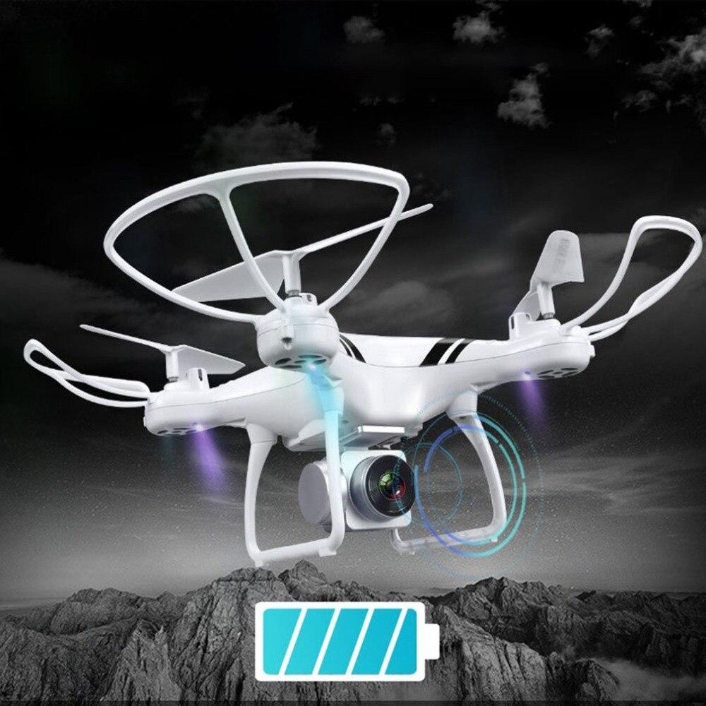 RC Drone avec Wifi FPV HD Réglable Caméra Maintien D'altitude Un Retour Key/D'atterrissage/Off Sans Tête RC Quadcopter drone KY101S