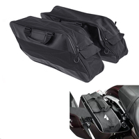 Motorcycle Motorbike Hard Saddlebag Liners luggage Travel Paks for Harley Touring 97 13 FLHT FLHR