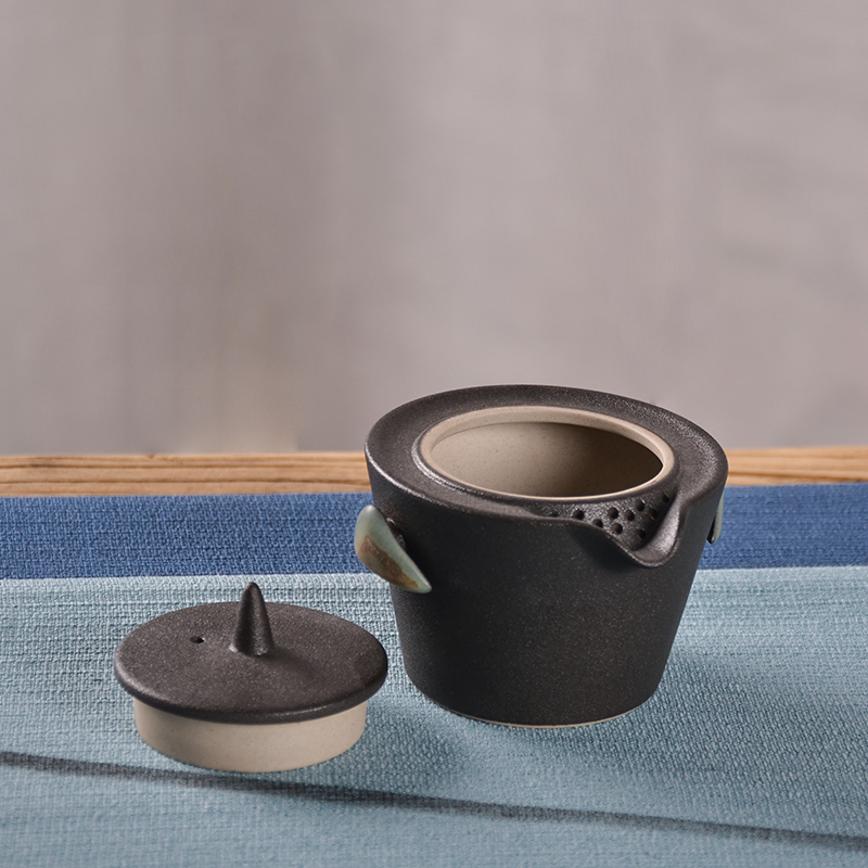 TANGPIN japanese ceramic teapot gaiwan teacups portable travel tea set with travel bag in Teaware Sets from Home Garden