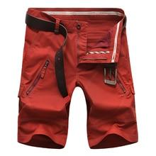2017 new arrivals fashion men cargo shorts straight loose fashion cotton mans short trousers bottoms plus size 48 50 AYG227