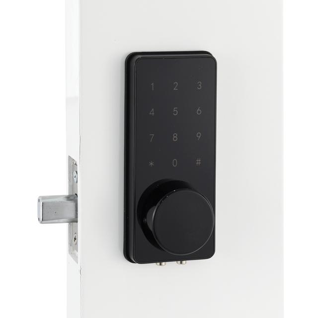 Keyless Digital Door lock  Mini Electronic deadbolt Card Code Door Lock Unlock With Code,M1 Card, And Mechanical Key