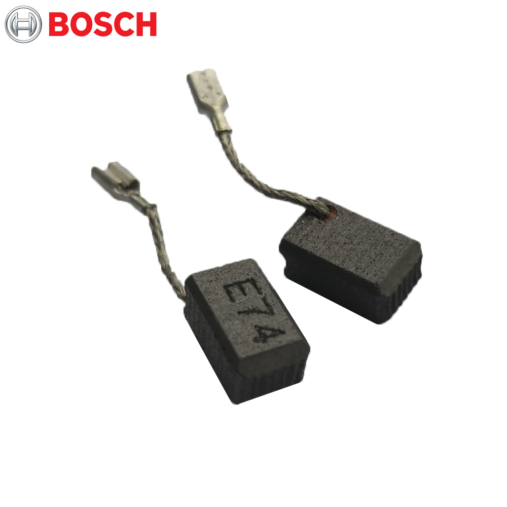 Genuine Bosch 1619P02870 Carbon Brushes 13x8x6.5mm Spare Parts Replaces Grinder GWS 7-100 7-125 1619P02892