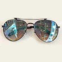 Pilot Sunglasses Women Brand Designer High Quality with Packing Box Oculos De Sol Feminino Vintage Fashion Eyewewar Sun Glasses