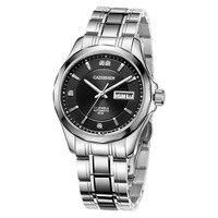 CADISEN Luxury Brand Men's Watch Steel Watch Men Business Automatic Mechanical Male Wirstwatch Waterproof Thin Relogio Masculino Mechanical Watches