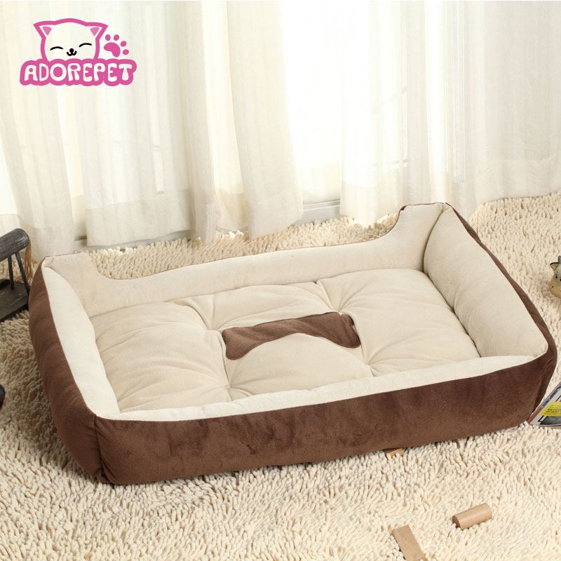 Small big large dog sofa bed House Kennel winter warm fleece Pet Dog Cat Bed nest mat cushion golden retriever pitbull dog bed