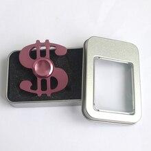 นิ้วปั่นเพลงหมายเหตุมือปั่นโลหะวิชาชีพเพลงดอลลาร์เข้าสู่ระบบ$ Triอยู่ไม่สุขปินเนอร์WithBox # E