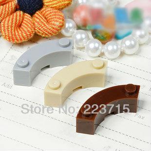 Freies Verschiffen! 20 stücke * Ziegel 3x3 Runde * DIY erleuchten block ziegel, Kompatibel Mit Zusammenbaut Partikel